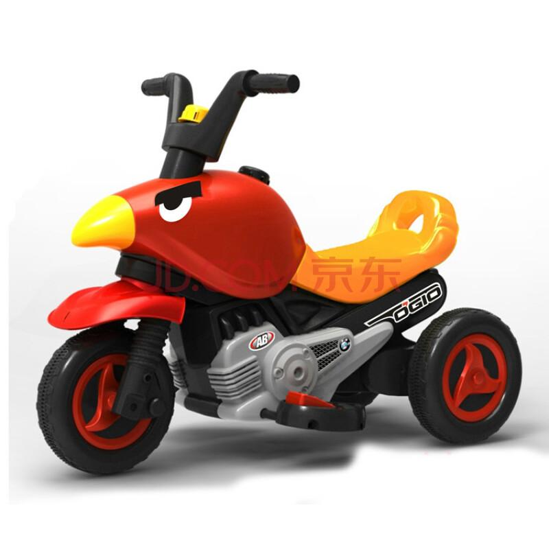 愤怒的小鸟儿童三轮车摩托车