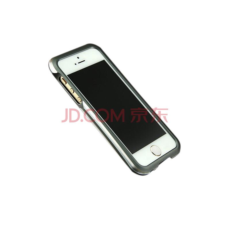 适用于苹果iphone5s双色小蛮腰手机壳金属边框