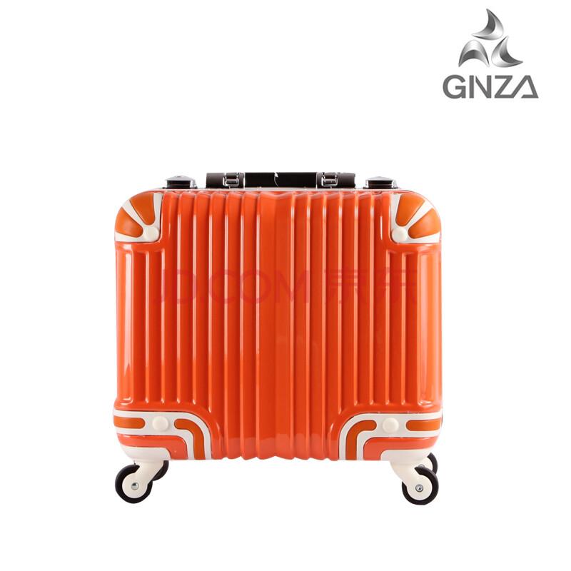 银座gnza正品男女旅行李箱时尚拉杆箱 万向轮飞机轮登机密码箱24寸