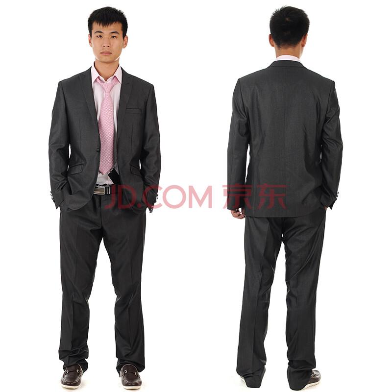 品牌男装罗蒙西装男款套装6s25873