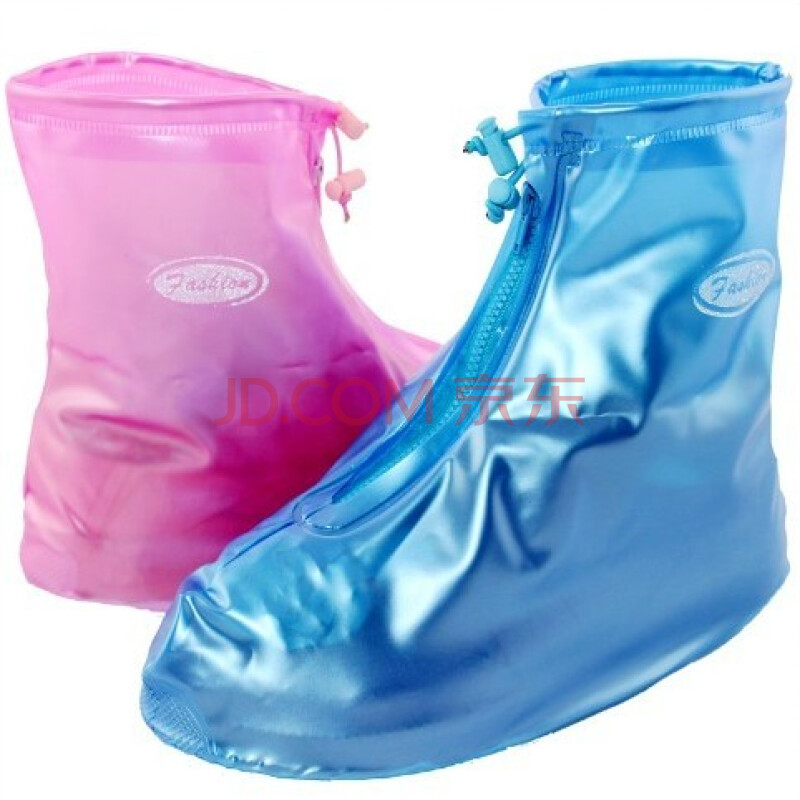 利雨防雨鞋套女加厚底雨鞋时尚防水鞋套男女雨天鞋