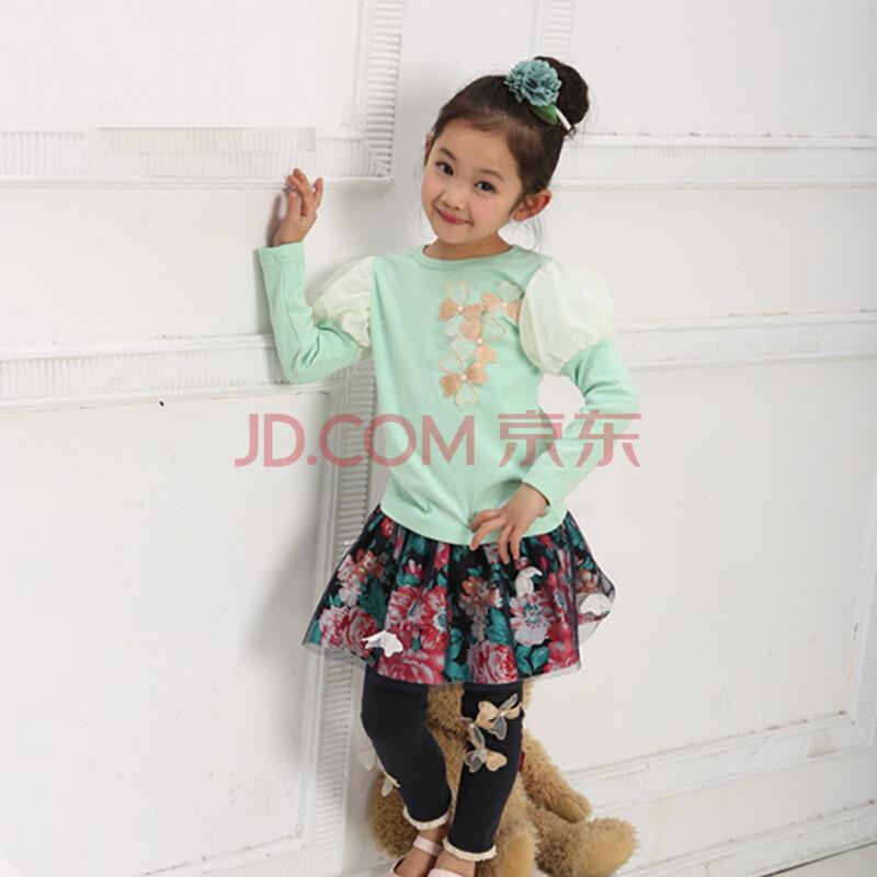 套宝宝套装儿童服装女孩衣