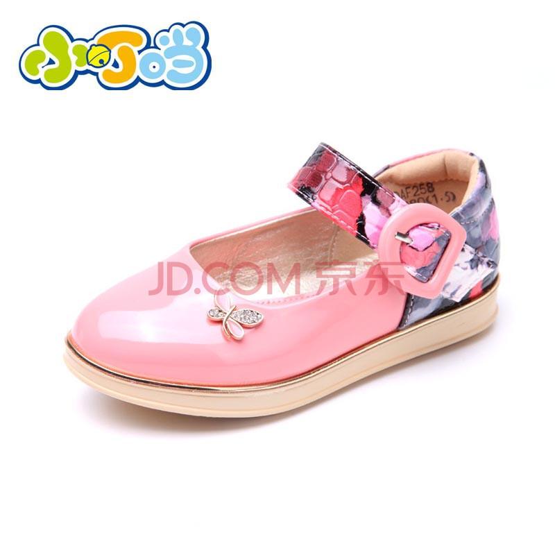 2014春女童单皮鞋女