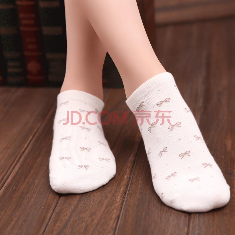 女短袜棉袜 薄浅口船袜