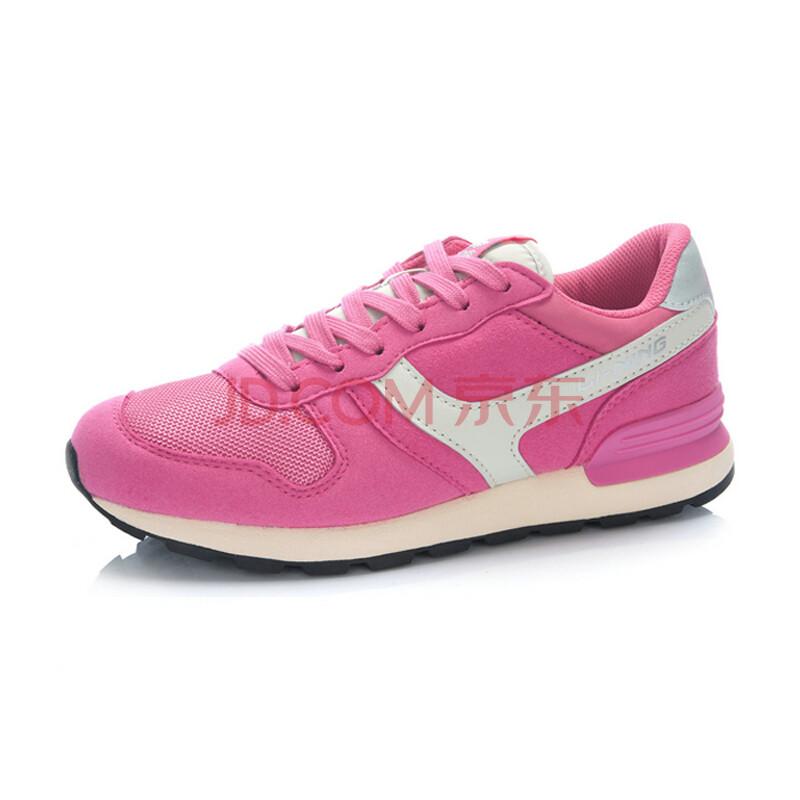 李宁lining 2014年春季新款女鞋经典复古的休闲慢跑