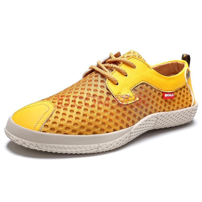 麦尚伦夏季新款货到付款男鞋休闲鞋男士板鞋透气网面鞋透气鞋男