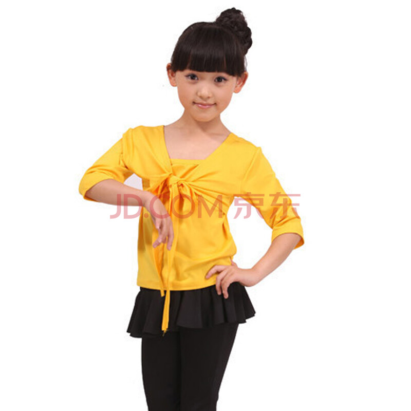 儿童舞蹈服装练功服女童拉丁舞广场舞服装