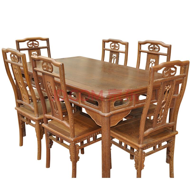 红木家具/实木方形餐桌/饭桌/原木/中式餐厅明清古典
