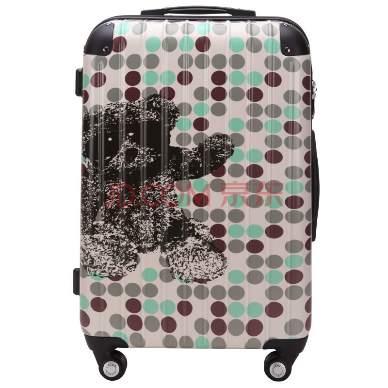 箱时尚万向轮飞机轮登机箱托运大容量出国行李箱zc001 zc001-18 24寸
