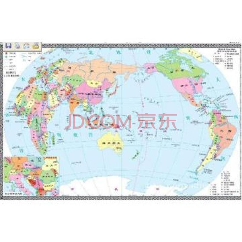 世界地图(精)