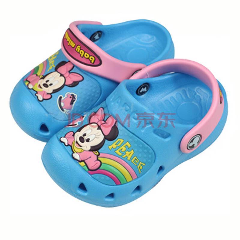 米奇童鞋儿童洞洞鞋宝宝沙滩凉鞋男女婴儿凉