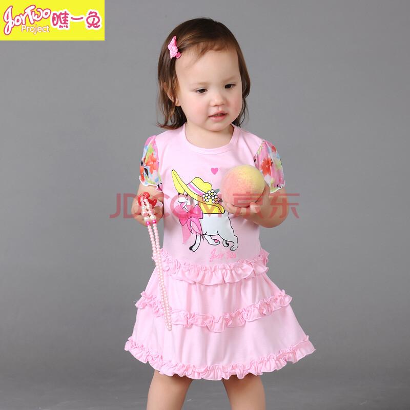 夏装蛋糕裙儿童连衣裙