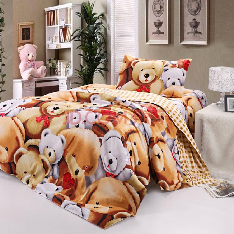 宿舍床儿童床床单三