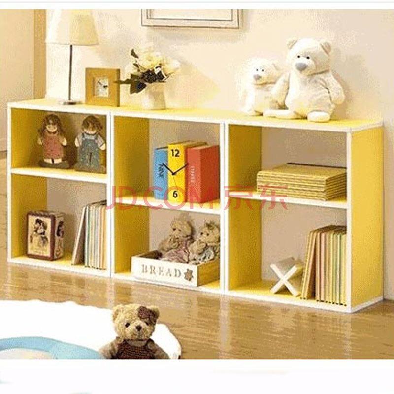 特价儿童书柜 彩色储物柜