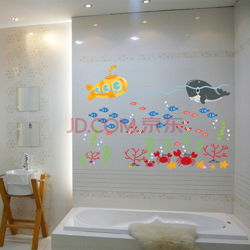 家庭卧室墙壁贴画