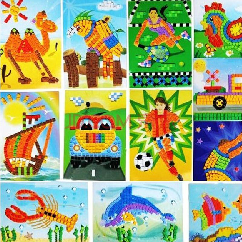 儿童手工礼物图片