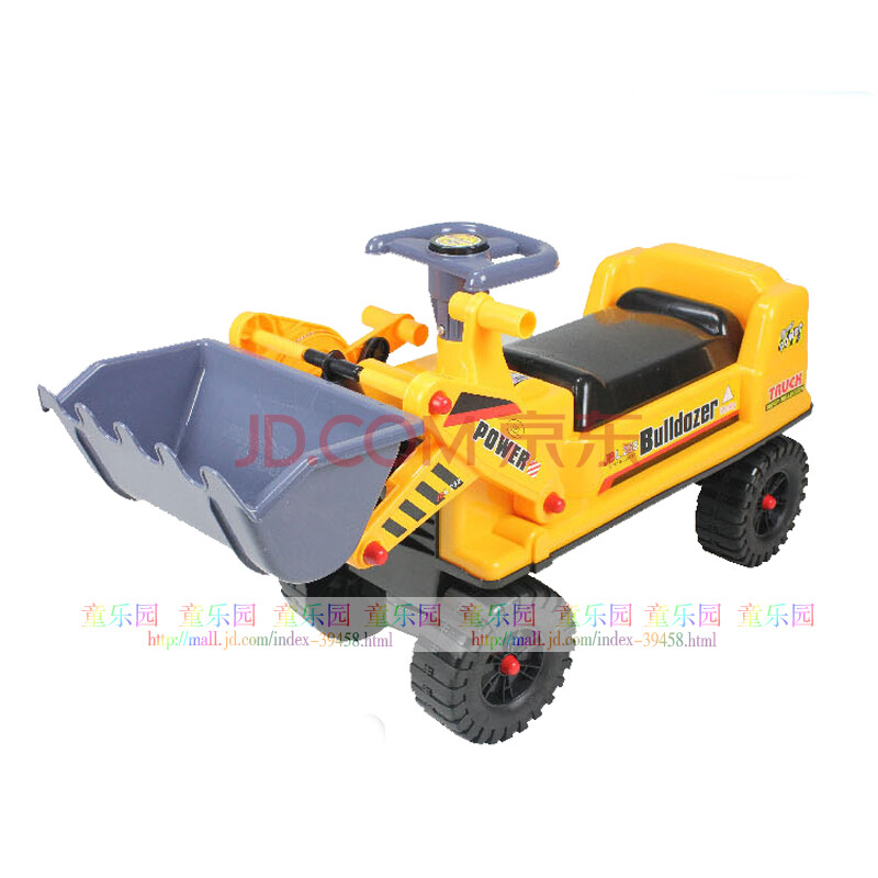 嘉百乐正品可坐可骑儿童挖土机挖掘机挖机工程车儿童