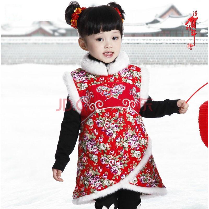 儿童唐装旗袍