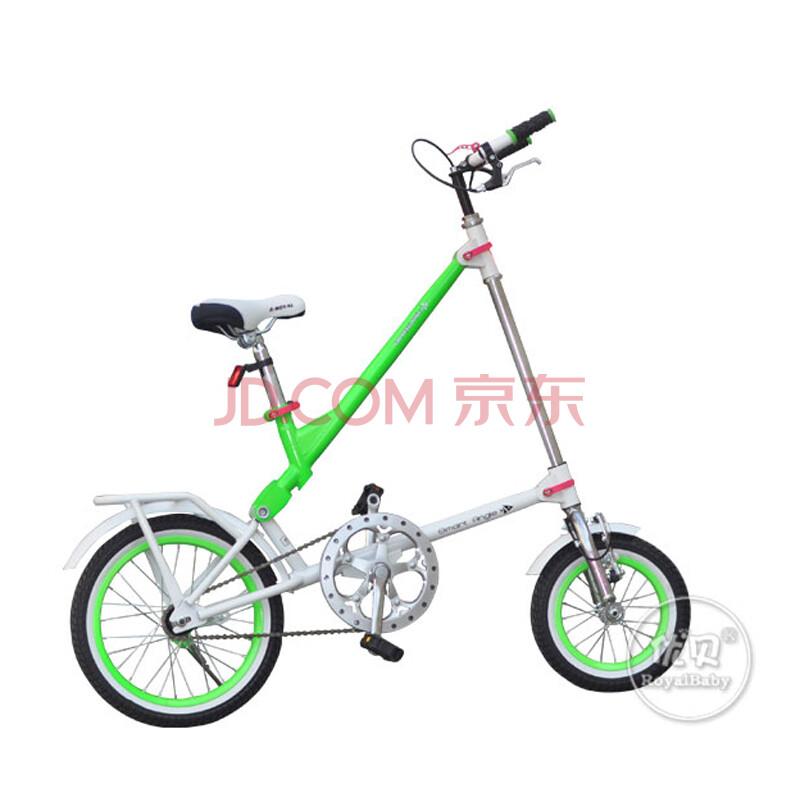 优贝儿童自行车可折叠三角精灵