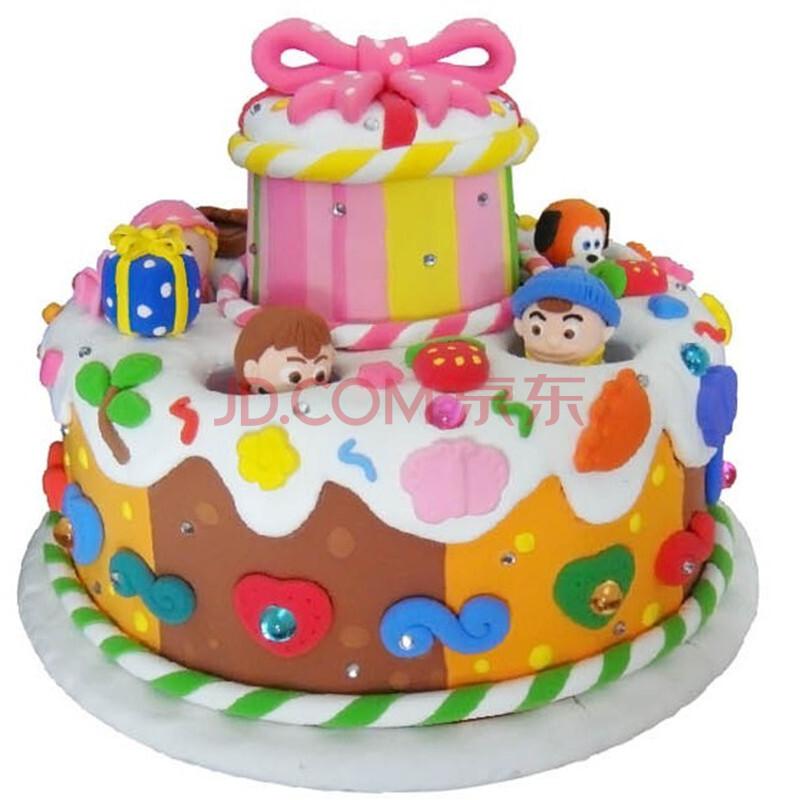 葫芦娃翻糖蛋糕图片展示