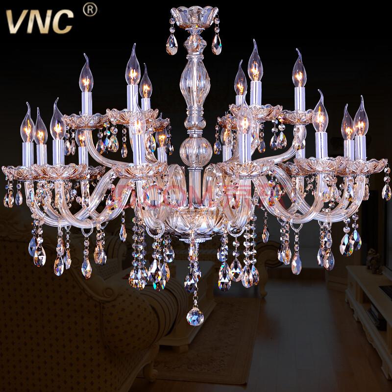 vnc 干邑色豪华水晶吊灯