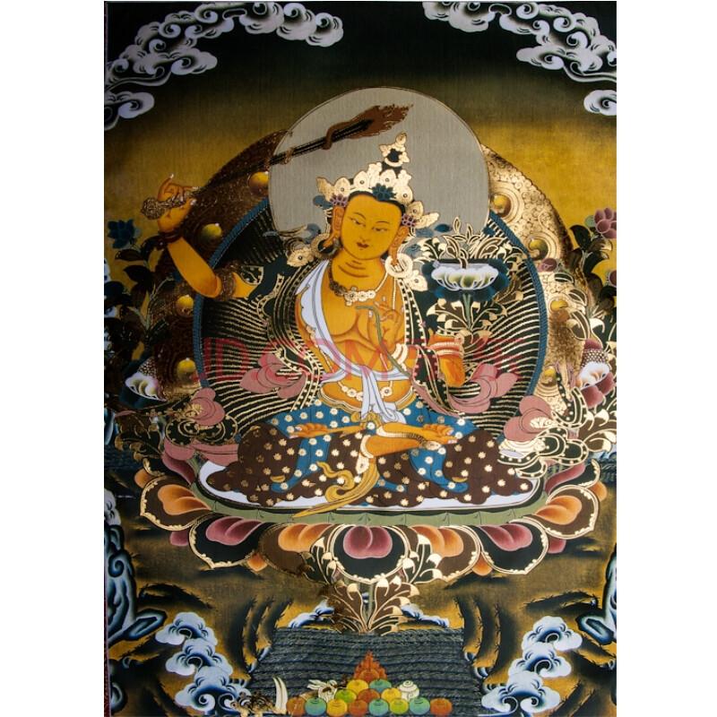 西藏唐卡画 藏族佛像画