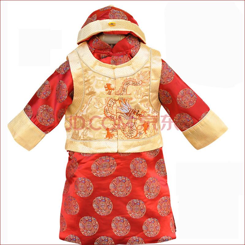 童之遥儿童唐装 冬季男童中式唐装