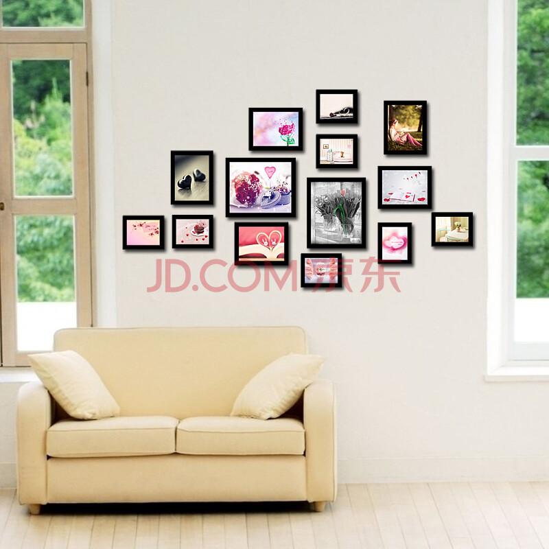 【润格】润格14框创意组合相框墙适合生活照宝宝照墙