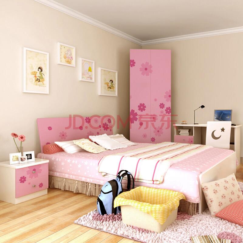 儿童床套房 儿童家具女孩床