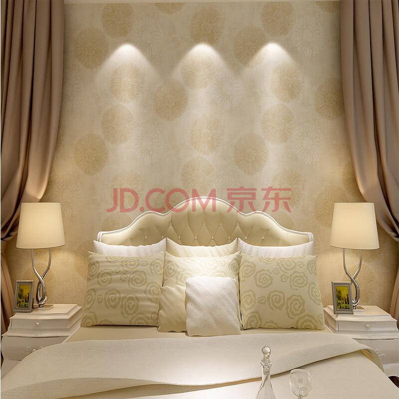 米素壁纸 美式 卧室客厅墙纸 个性3d立体电视背景墙壁纸 爱丽伊莎 纯图片