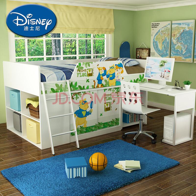 功能组合儿童床 半高床组合床