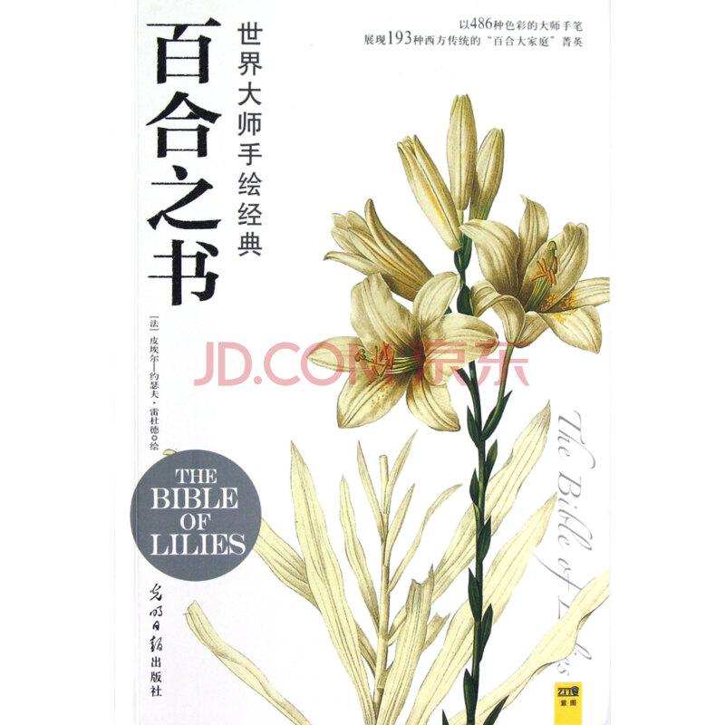 】百合之书(世界大师手绘经典)图片-京东