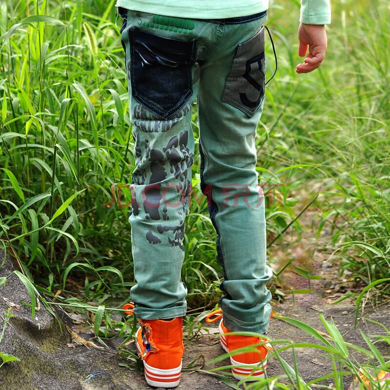女童牛仔裤铅笔裤