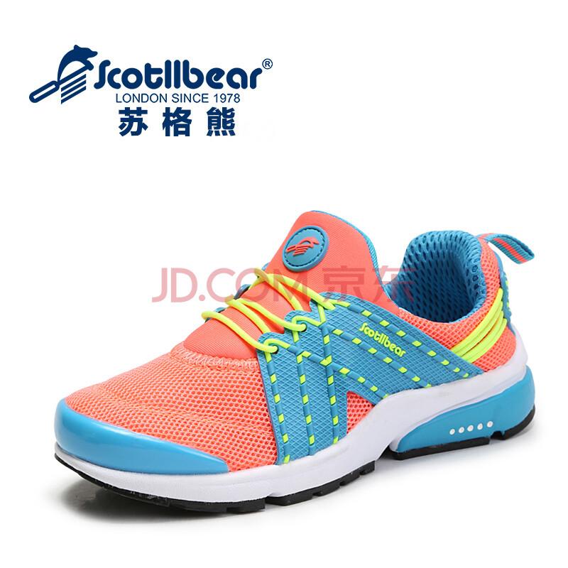 女童鞋2014春秋季新款儿童网面软