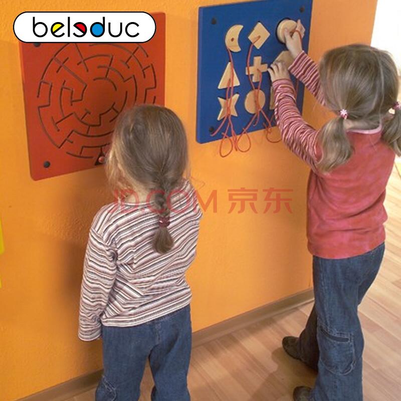 儿童益智早教玩具幼儿园教具墙面游戏-迷宫3-6岁玩具