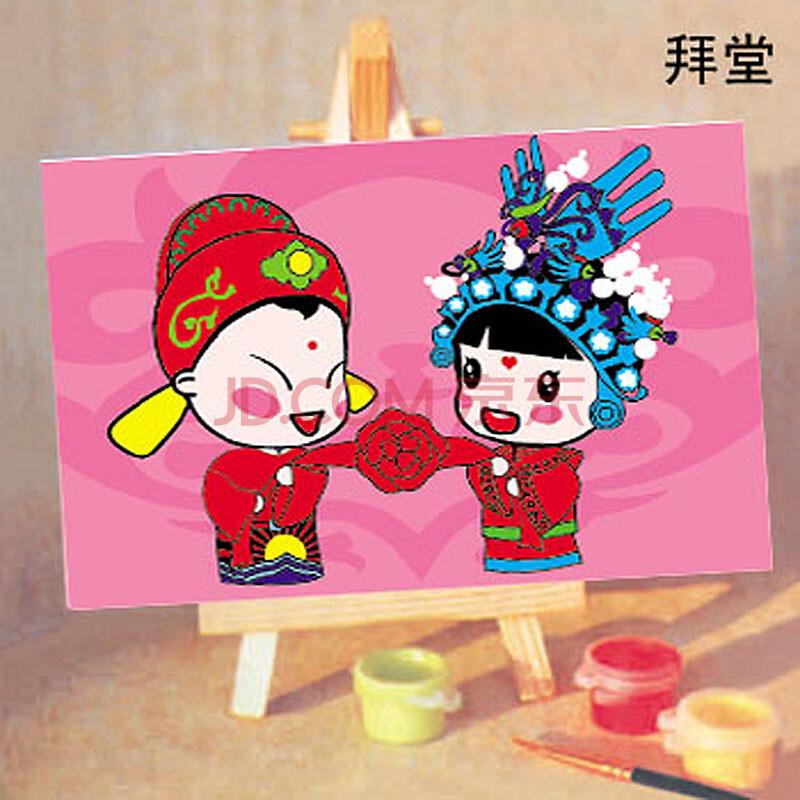 壹汇diy 数字油画diy 首选儿童手绘