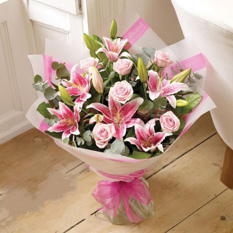 送花可爱gif