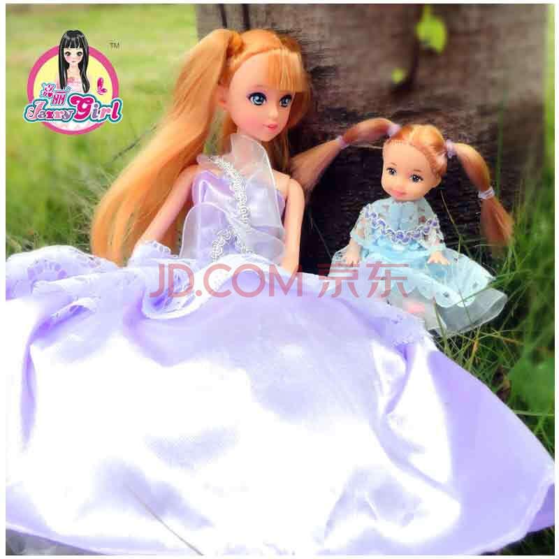 小女孩玩具正版芭比娃娃套装礼盒洋娃娃diy芭比公主