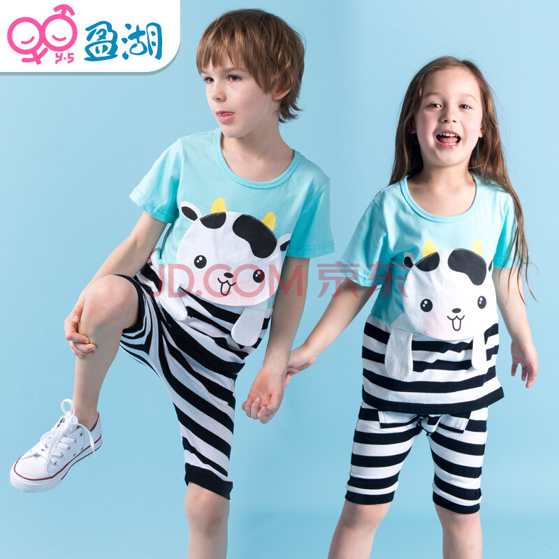 夏款儿童运动套装