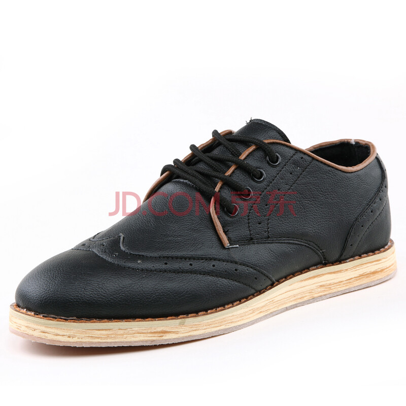 男士布洛克鞋花雕英伦男鞋时尚休闲鞋商务款