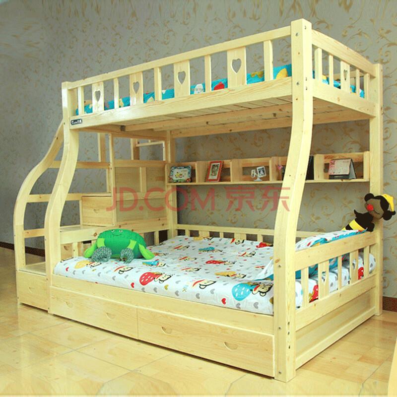 香可儿童家具 松木儿童床
