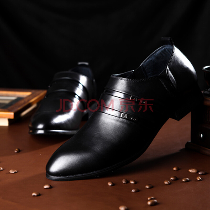 新款男士时尚英伦范皮鞋
