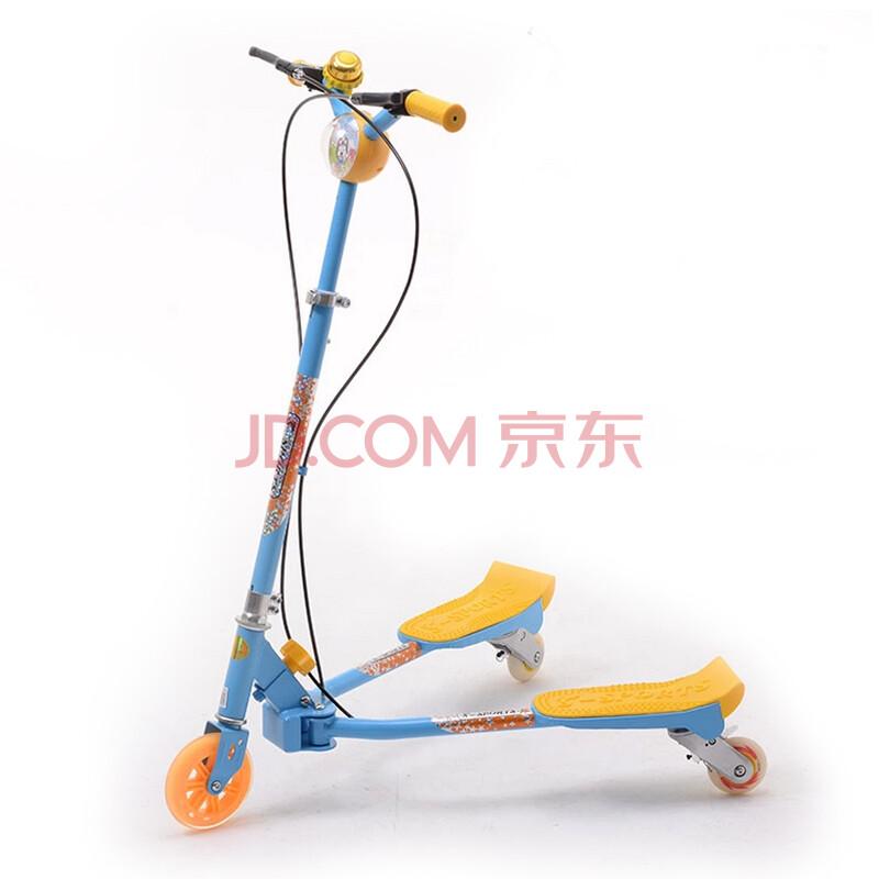 赛博儿童蛙式滑板车 三轮扭扭车蛙式车