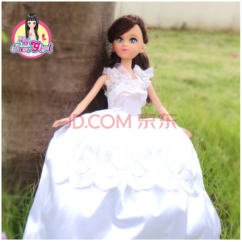 雪莉女孩正版雪莉女孩玩具男芭比娃娃套装礼盒barbie