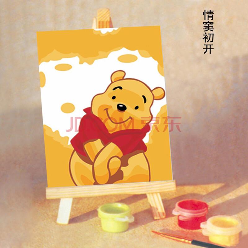 数字油画diy 首选儿童手绘
