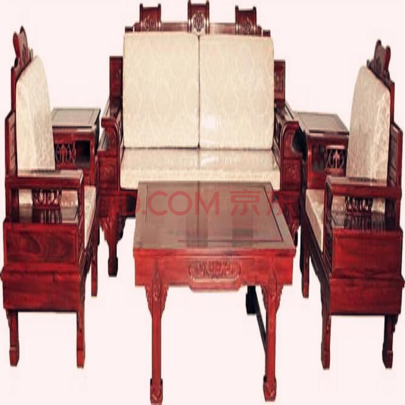 30 红木家具 尼泊尔小叶紫檀清式宝座沙发茶几 jh-g-020 ¥75000.图片