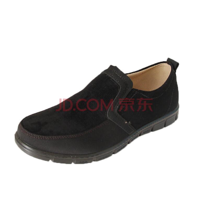 货到付款 步福祥 老北京布鞋 时尚休闲鞋 单鞋 男鞋 242 黑色 40