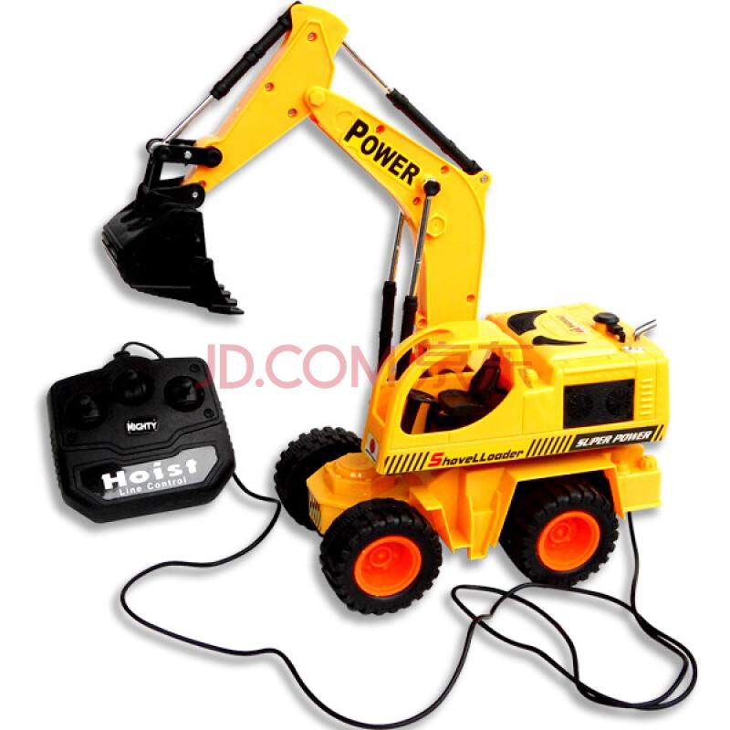 儿童电动遥控挖土机