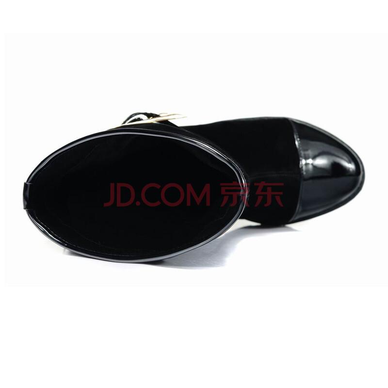 休闲筒靴舒适单鞋-a