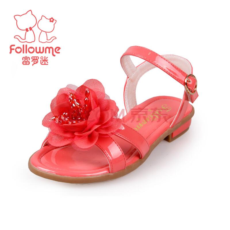 富罗迷凉鞋 女童凉鞋 公主鞋韩版潮2014夏季新款儿童